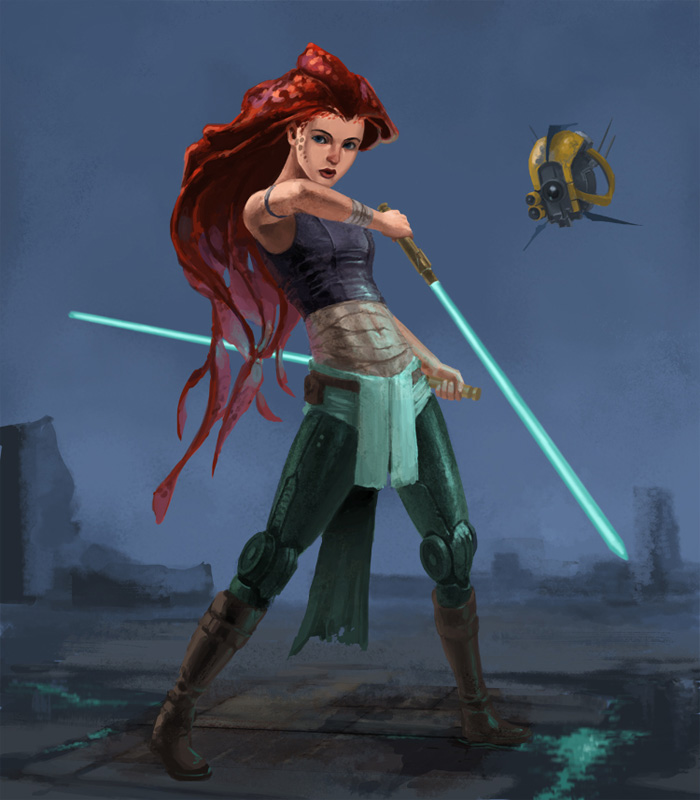 Jedi Disney Princesses Fan Art