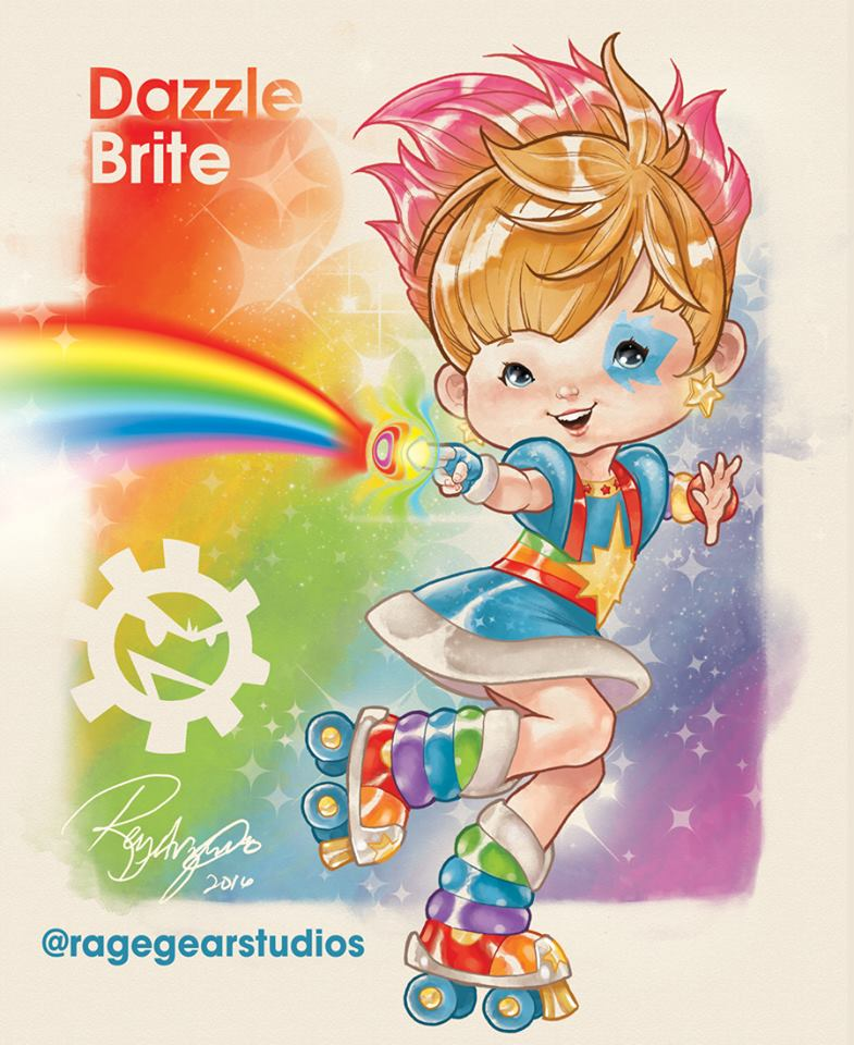 X-Men Superheroes as Color Kids from Rainbow Brite
