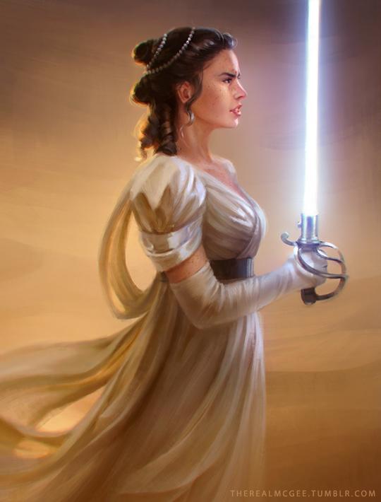 Star Wars Regency Fan Art