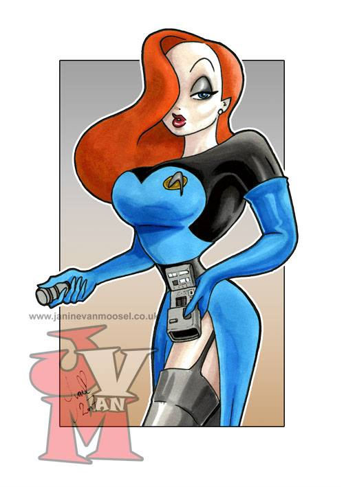 Jessica Rabbit Cosplays as Geek Icons Part II