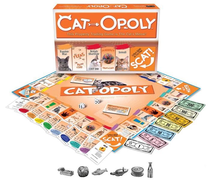 Cat Opoly Board Game Australia