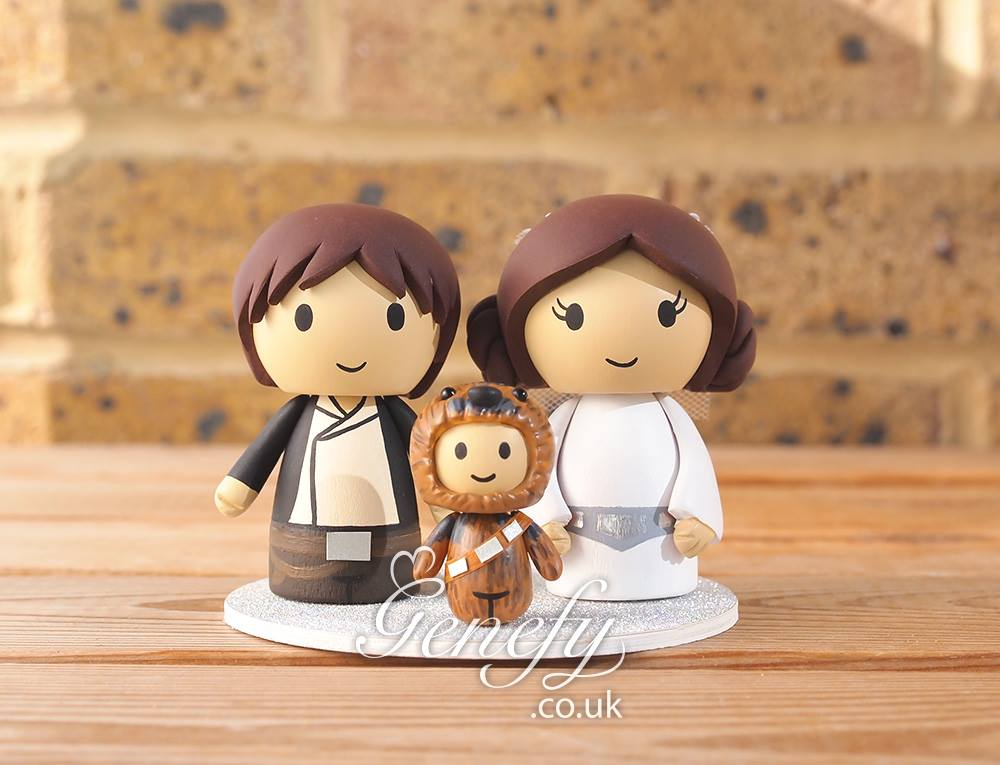 Geeky Wedding Cake Toppers