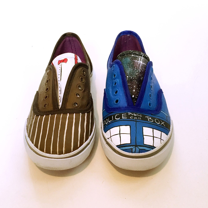 Custom Geeky Fandom Shoes