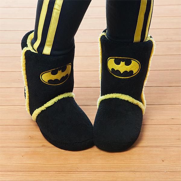 Harley Quinn & Batman Boot Slippers