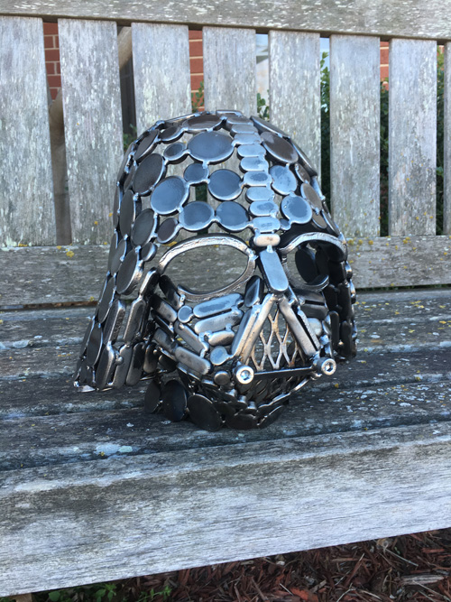 Star Wars Helmet Metal Sculptures