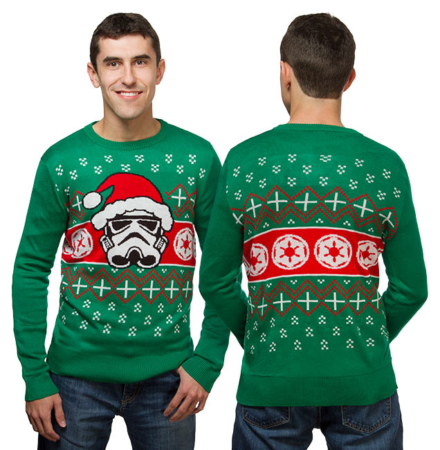 Star Wars Darth Vader & Stormtooper Holiday Sweaters