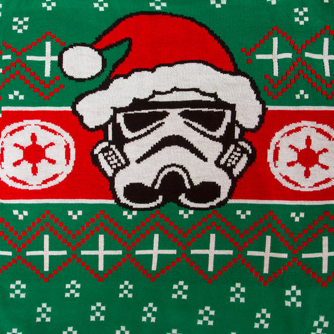 Star Wars Darth Vader & Stormtooper Holiday Sweaters