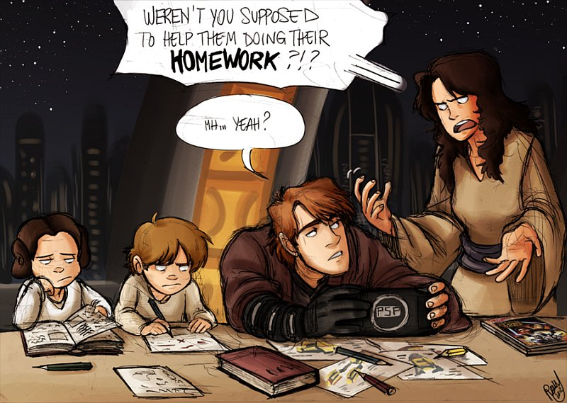 The Skywalker Family Comics - If Anakain Didn