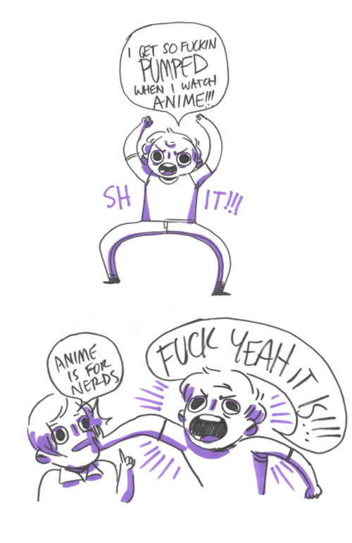 love for anime comic