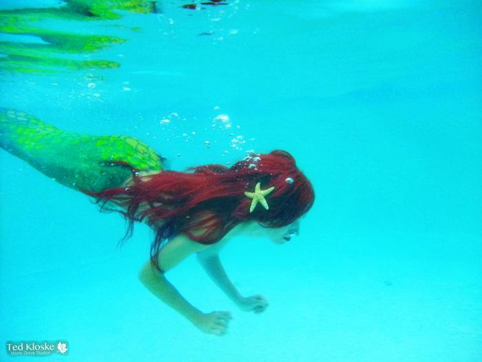 Underwater Ariel Cosplay