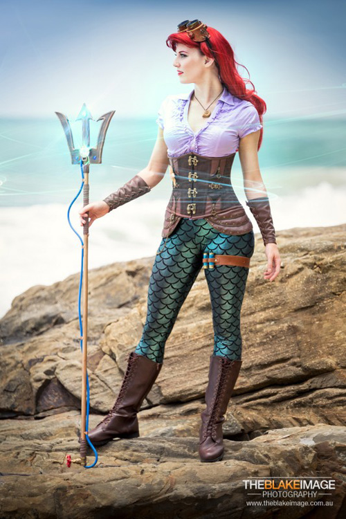 Steampunk Ariel Cosplay