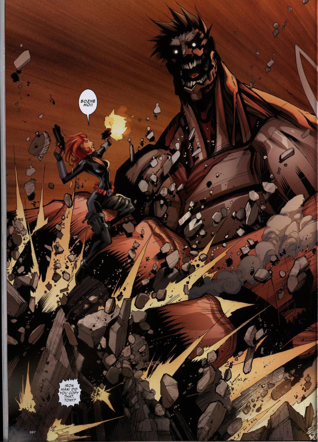 Attack On Titan Avengers Comic