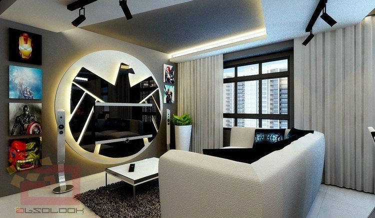 Epic Avengers Themed House