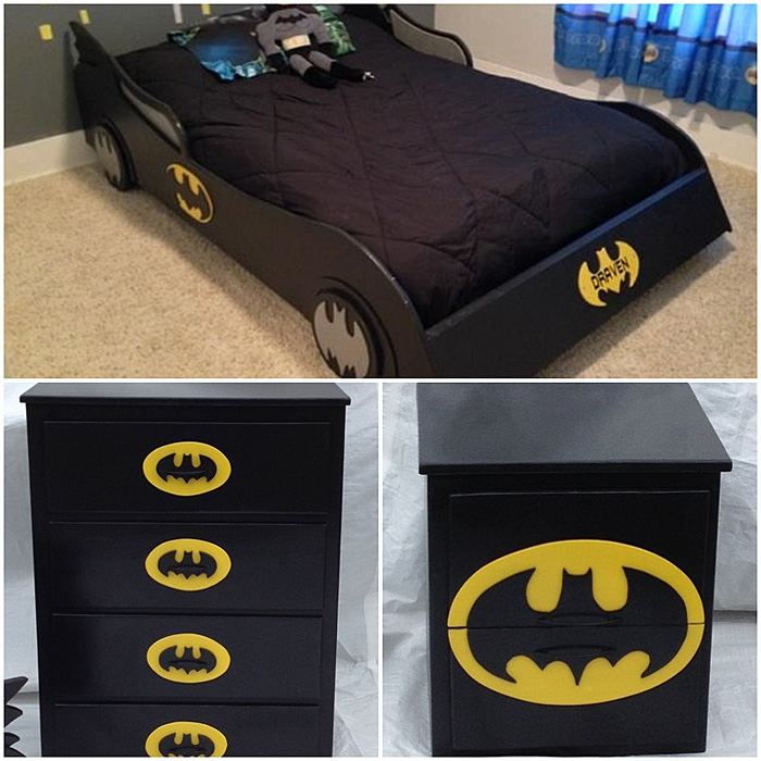 Batman Bedroom