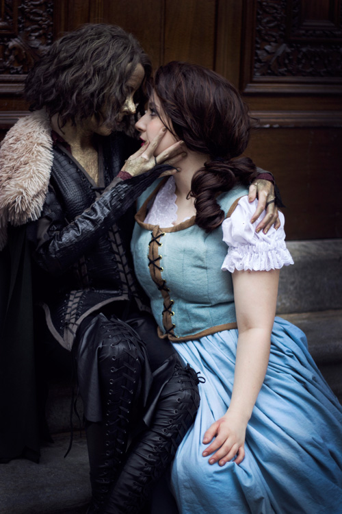 rumplestiltskin and belle from once upon a time cosplay