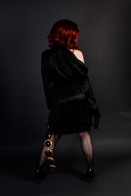 Black Widow Boudoir Cosplay