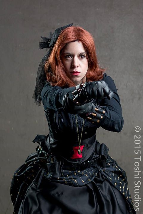 Steampunk Black Widow Cosplay
