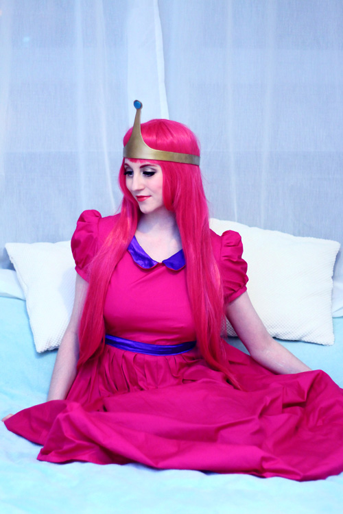 Princess Bubblegum from Adventure Time Cosplay
