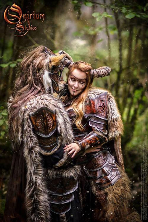Celtic Armor Fantasy Photoshoot