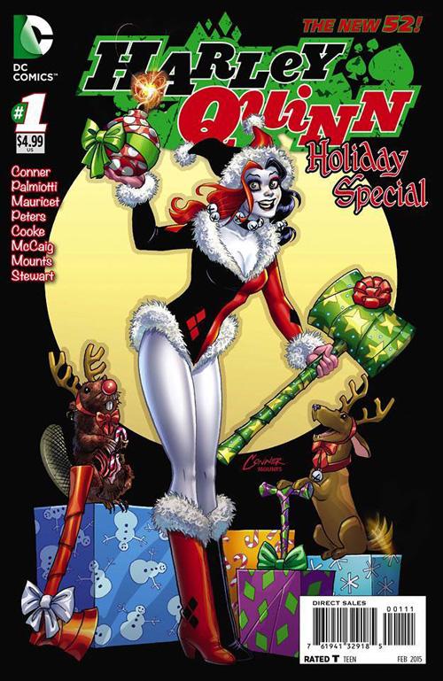 Christmas Harley Quinn Cosplay