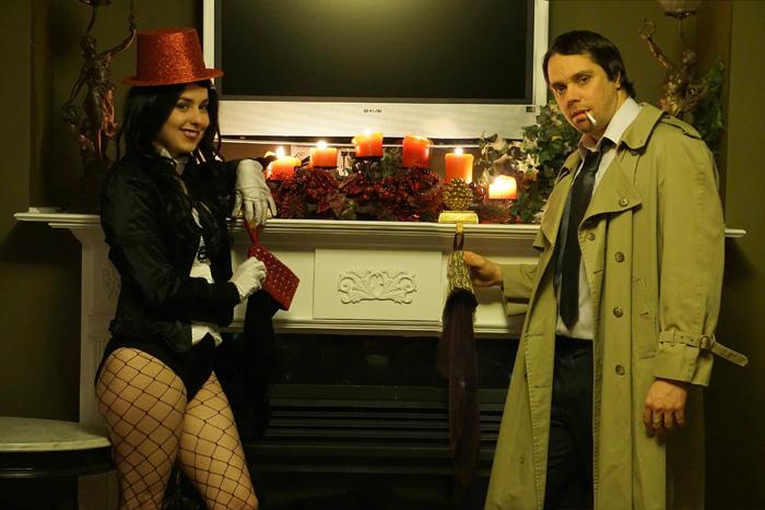 Zatanna & Constantine Cosplay