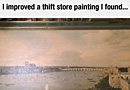 Improved Thrift Store Painting