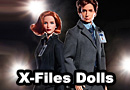 The X-Files Mulder & Scully Barbies