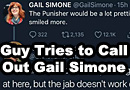 Guys Tries to Call Out Gail Simone