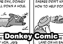 Donkey in the Hole Comic