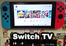 TV Modded to Look like a Nintendo Switch