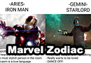 Marvel Cinematic Universe Zodiac Signs