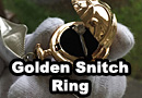 Golden Snitch Engagement Ring Box