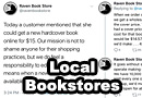 Why You Should Buy Books From Local Bookstores