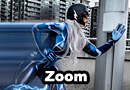 Zoom from The Flash Cosplay