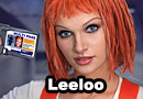 Leeloo from The Fifth Element Cosplay