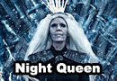 The Night Queen White Walker from Game of Thrones Cosplay