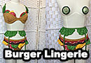Sexy Burger Lingerie