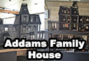 Addams Family Miniature House