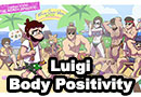 Body Positivity Luigi Comic