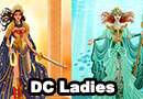 DC Ladies Designs Fan Art