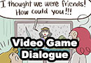 Video Game Dialogue Comic