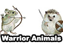 Woodland Animal Warriors Art