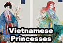 Vietnamese Disney Princesses Fan Art