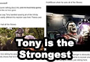 Tony Stark is the Strongest Avenger