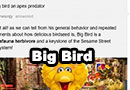 Is Big Bird an Apex Predator?