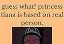 The Real Life Inspiration for Princess Tiana