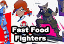 Fast Food Fighters Fan Art