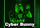 Cyber Bunny Cosplay