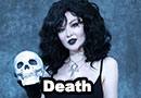 Death from The Sandman Cosplay