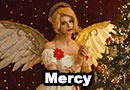Christmas Mercy from Overwatch Cosplay